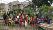 A Makotipoko, des milliers d'hommes, de femmes et d'enfants ont trouvé refuge après avoir fui leurs villages attaqués.