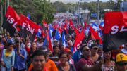 """En réaction à la montée de la pandémie, la Vice-présidente du Nicaragua avait appelé à une """"marche de l'amour au temps du Covid-19"""". Des milliers de personnes avait répondu présentes, le 14 mars."""