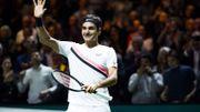 Federer domine Dimitrov à Rotterdam et décroche son 97e titre