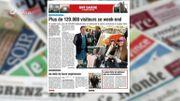 Plus de 120.000 visiteurs pour Rive gauche à Charleroi ce week end, c'est dans la revue de presse