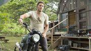 """Chris Pratt en images dans """"Jurassic World"""""""