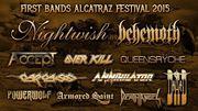 Onze groupes déjà annoncés à l'Alcatraz Metal Festival en août 2015