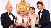 """Oscars 2015 - """"Birdman"""" grand vainqueur d'une soirée d'Oscars très politisée"""
