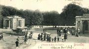 L'entrée du Bois de la Cambre, fin du 19e siècle.