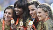 La médaille d'argent de 2008, devenue or olympique en 2016