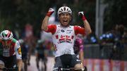 Caleb Ewan s'adjuge au sprint la 8e étape du Tour d'Italie