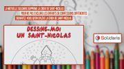 """Sylviane : """" Ma petite-fille de 3 ans a sursauté en voyant Saint Nicolas avec un rond """""""