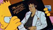 Michael Jackson dans les Simpsons