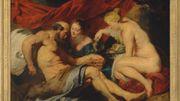 """Le tableau de Rubens """"Loth et ses filles"""" adjugé pour 52,4 millions d'euros"""