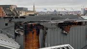 L'incendie à Bozar: des dégâts visiblement importants (vidéo de l'intervention)