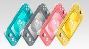 La Nintendo Switch Lite se décline en version corail