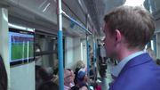 Mondial 2018: regarder un match dans le métro de Moscou, c'est possible