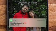 """A voir: """"Amour 2.0"""", le court-métrage des Youtubeuses """"Camille et Justine"""" sur les relations toxiques"""