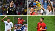France-Belgique: la demi-finale en six duels