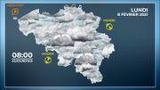 Ciel neigeux ce matin
