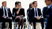 Le roi Willem-Alexander et la reine Maxima, aux côtés du Premier ministre Mark Rutte, étaient très affectés par la cérémonie d'arrivée des premiers corps des victimes