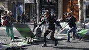 Manifestations à Paris: 163 interpellations et 99 personnes en garde à vue