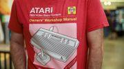 Une illustration de l'Atari 2600 sur un t-shirt.