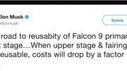 Insolite : Elon Musk dévoile tous les ratés des fusées SpaceX