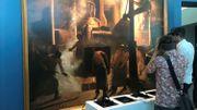 La Coulée à Ougrée de Constantin Meunier, observable au travers d'un casque de réalité virtuelle