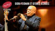 Revivez le concert de Giora Feidman et Gitanes Blondes au Festival Musiq3 2016