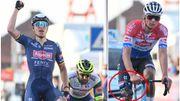 Tim Merlier remporte au sprint le Grand Prix Samyn, van der Poel casse son guidon!