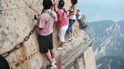 Faire du trekking en Chine.