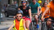Les photos de l'étape bruxelloise du Beau Vélo de RAVeL