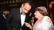Oscar d'honneur pour la réalisatrice franco-belge Agnès Varda et Donald Sutherland