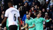 Le Real Madrid et Courtois, décisif dans les deux rectangles, arrachent un point à Valence