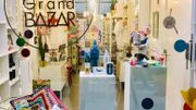 Le Petit Grand Bazar de Liège vous accueille avec ses tchinis, ses objets décalés, plein d'humour qui font du bien