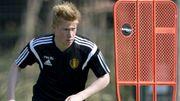De Bruyne a repris l'entraînement, Meunier forfait