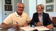 Claudio Ranieri est le nouvel entraîneur de la Sampdoria
