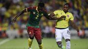 Le Cameroun de Broos largement battu par la Colombie où Izquierdo marque son 1er but