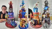 Marvel, Star Wars, Harry Potter, Disney, Simpson... sur des gâteaux spectaculaires