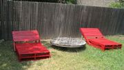 Inspiration pour votre jardin : la chaise longue en palette