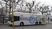 Un bus à hydrogène de De Lijn