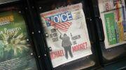 """Dernière édition imprimée de l'hebdo new-yorkais """"The Village Voice"""""""