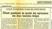 Coupure de presse : La Libre Belgique, 3-4 mai 1978
