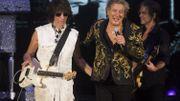 Rod Stewart avec Jeff Beck