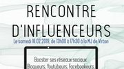 Trois influenceurs luxembourgeois à la Maison des Jeunes de Virton