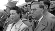Simone de Beauvoir et Jean-Paul Sartre en 1955 à Pékin