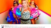 """Le clip de """"Bitch I'm Madonna"""" se dévoile sur le web"""