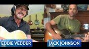 Eddie Vedder joue avec Jack Johnson