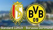 Dortmund utilise le mauvais logo, le Standard répond avec humour
