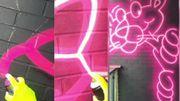Des tags se transforment en véritables néons et c'est éblouissant
