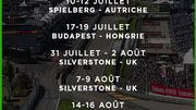 Un an de plus pour le GP de Belgique...et 8 GP en 10 semaines pour débuter la saison