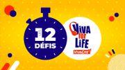 Depuis chez vous, réalisez les 12 défis Viva for Life en 144h !