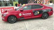 Asseyez-vous dans la voiture N°1 du Tour de France