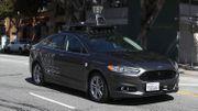 Un véhicule autonome de Uber.